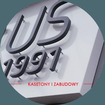 Kasetony i zabudowy