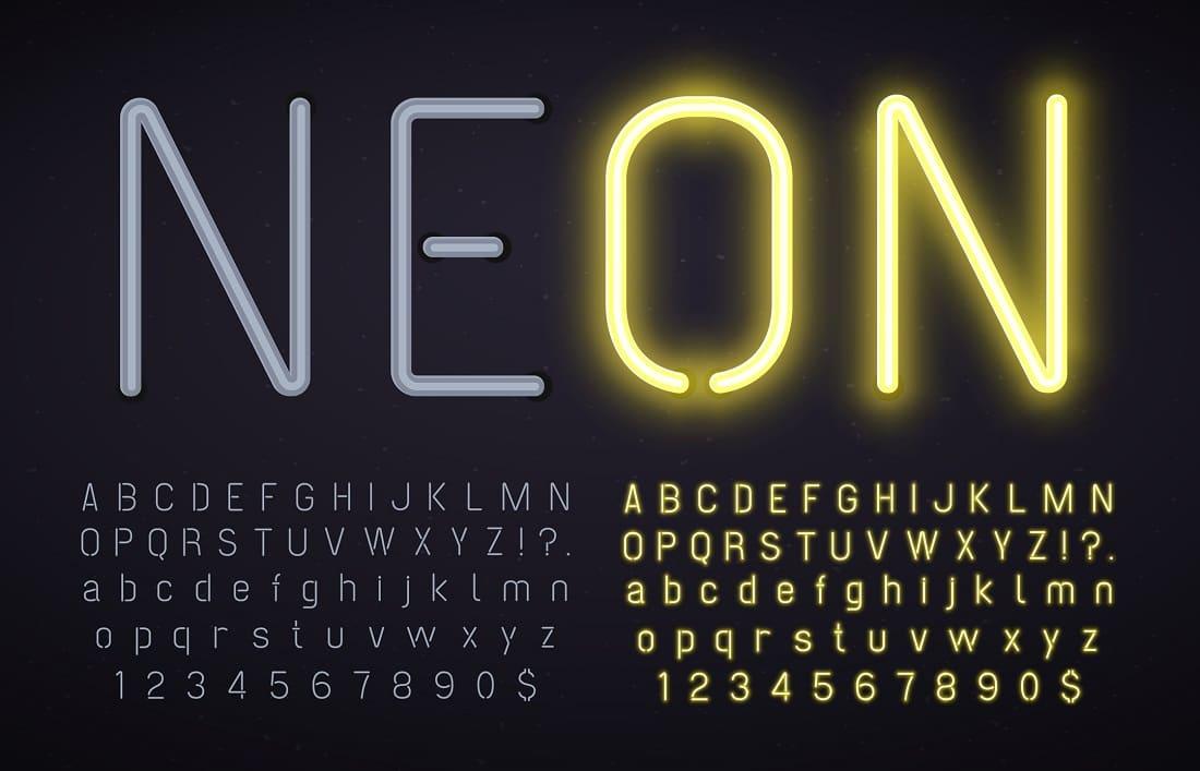 Neon w reklamie